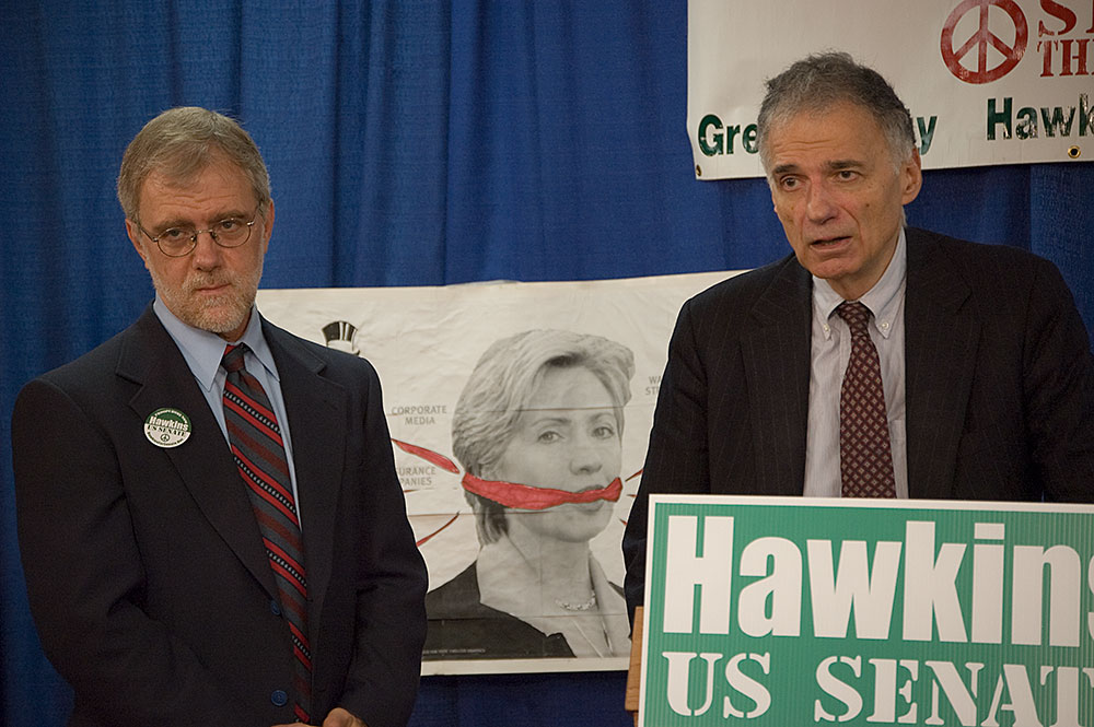 Howie Hawkins and Ralph Nader